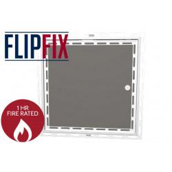 FlipFix Fire Rated Access Panel - Plasterboard Door Beaded Frame