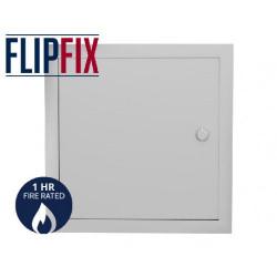 FlipFix Metal Door Picture Frame Access Panel - 1hr Fire Rated