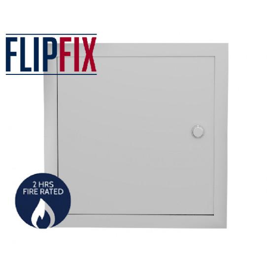 FlipFix Metal Door Picture Frame Access Panel - 2hr Fire Rated