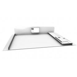 FlipFix Metal Door Picture Frame Access Panel