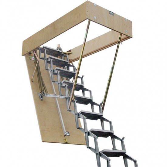 ZIP 8E Retractable Ladder - Up to 4600mm