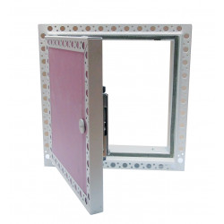 Plasterboard Faced Door with Beaded Frame