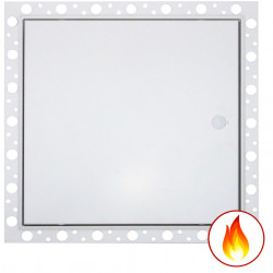 Fire Rated Metal Door Access Panel with Beaded Frame