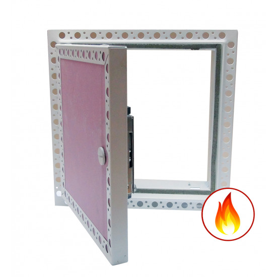 Fire Rated Plasterboard Faced Door with Beaded Frame