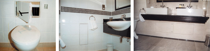 Tiled Access Panels